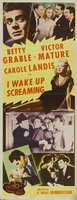 I Wake Up Screaming movie poster (1941) picture MOV_cfc2db29