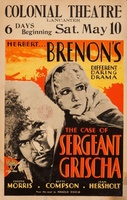 The Case of Sergeant Grischa movie poster (1930) picture MOV_cfc66308