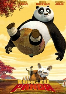 Kung Fu Panda movie poster (2008) poster MOV_cfd4d4b1