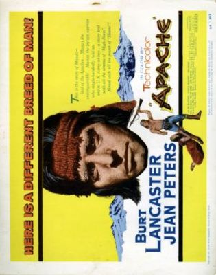 Apache movie poster (1954) poster MOV_cfdde46a
