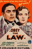 Obey the Law movie poster (1933) picture MOV_cff3a696