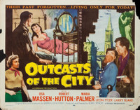 Outcasts of the City movie poster (1958) picture MOV_cq69249t
