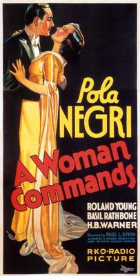 A Woman Commands movie poster (1932) poster MOV_d0026813