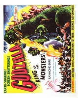 Godzilla, King of the Monsters! movie poster (1956) picture MOV_d003f273