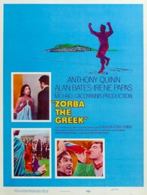 Alexis Zorbas movie poster (1964) poster MOV_d0387c2c