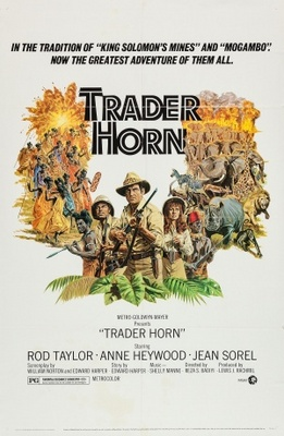 Trader Horn movie poster (1973) poster MOV_d03ed93c