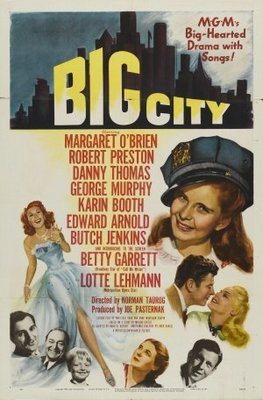 Big City movie poster (1948) poster MOV_d04ee9d7