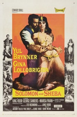 Solomon and Sheba movie poster (1959) poster MOV_d0722990