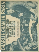 Charlie Chan in Paris movie poster (1935) picture MOV_d07282fc