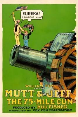 The Seventy-Mile Gun movie poster (1918) poster MOV_d087889e