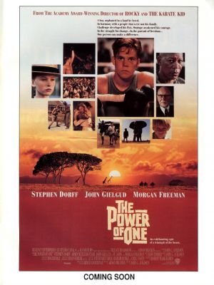 The Power of One movie poster (1992) poster MOV_d08bc588