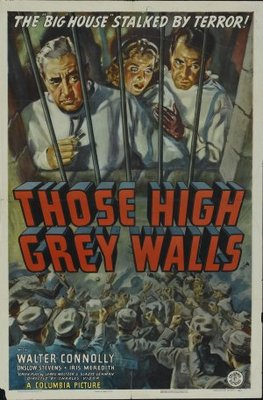 Those High Grey Walls movie poster (1939) poster MOV_d0bc0123