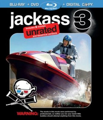 Jackass 3D movie poster (2010) poster MOV_d0debe3b