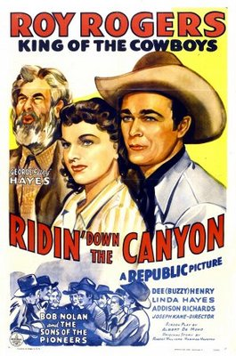 Ridin' Down the Canyon movie poster (1942) poster MOV_d0e74ed4