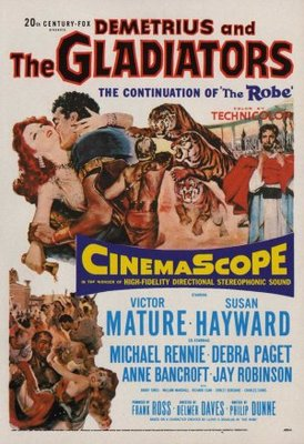 Demetrius and the Gladiators movie poster (1954) poster MOV_d0e7aa1f