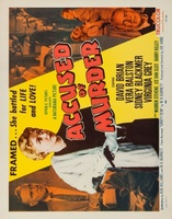 Accused of Murder movie poster (1956) picture MOV_d0f50f38