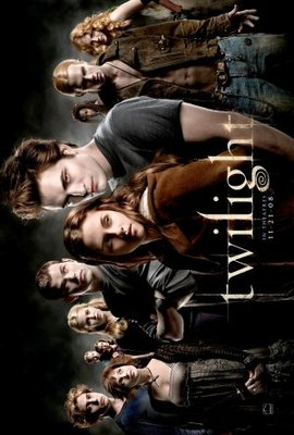 Twilight movie poster (2008) poster MOV_d0f95f6b
