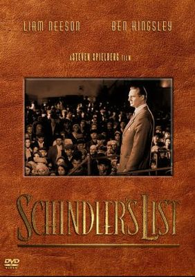 Schindler's List movie poster (1993) poster MOV_d0f9778d