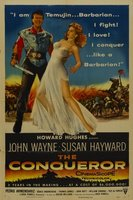 The Conqueror movie poster (1956) picture MOV_d17447de