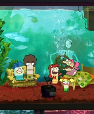 Fish Hooks movie poster (2010) poster MOV_d17588f7