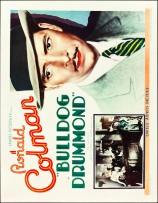 Bulldog Drummond movie poster (1929) poster MOV_d179dc4c