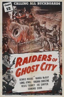 Raiders of Ghost City movie poster (1944) poster MOV_d180fed2