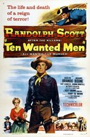 Ten Wanted Men movie poster (1955) picture MOV_d18da864