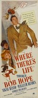 Where There's Life movie poster (1947) picture MOV_d1a8758f