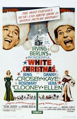 White Christmas movie poster (1954) poster MOV_d1d05ead