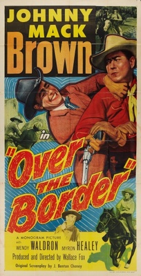 Over the Border movie poster (1950) poster MOV_d1e957d1