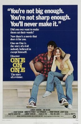 One on One movie poster (1977) poster MOV_d1eb4bf5