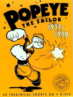 Popeye the Sailor movie poster (1933) poster MOV_d21e428e
