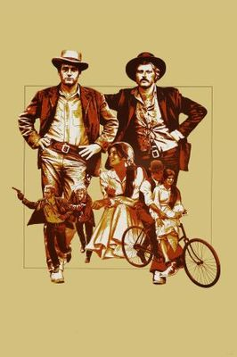 Butch Cassidy and the Sundance Kid movie poster (1969) poster MOV_d24f48f0