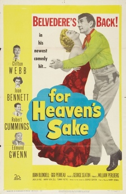 For Heaven's Sake movie poster (1950) poster MOV_d2684a62