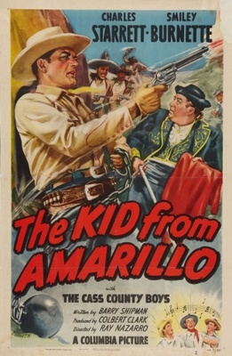 The Kid from Amarillo movie poster (1951) poster MOV_d26a4416