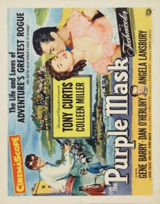 The Purple Mask movie poster (1955) poster MOV_d27f2158