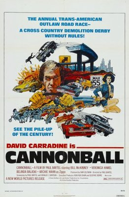 Cannonball! movie poster (1976) poster MOV_d2bb19b7