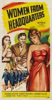 Women from Headquarters movie poster (1950) picture MOV_d2d12b62