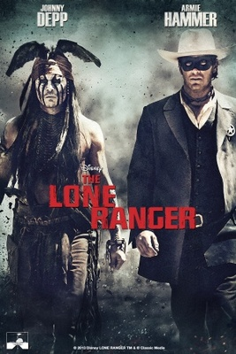 The Lone Ranger movie poster (2013) poster MOV_d2d541e3