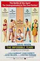 The Impossible Years movie poster (1968) picture MOV_d2ea9a3c