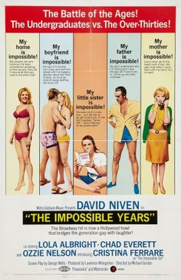 The Impossible Years movie poster (1968) poster MOV_d2ea9a3c