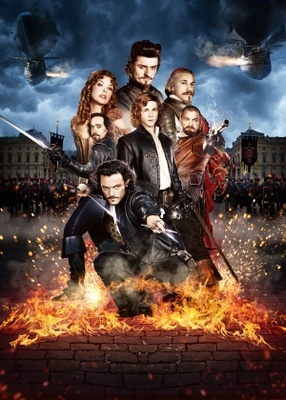 The Three Musketeers movie poster (2011) poster MOV_d2fe7f73