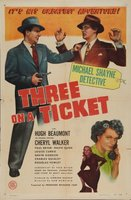 Three on a Ticket movie poster (1947) picture MOV_d30de946