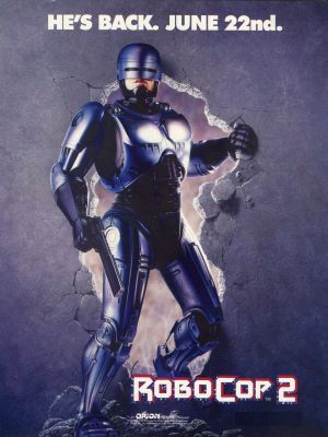 RoboCop 2 movie poster (1990) poster MOV_d33eb98a