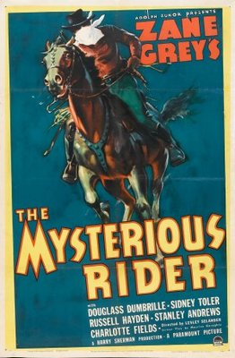 The Mysterious Rider movie poster (1938) poster MOV_d34d65c8