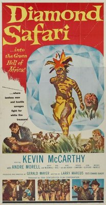 Diamond Safari movie poster (1958) poster MOV_d376bbd3