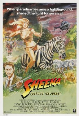 Sheena movie poster (1984) poster MOV_d3847ee5