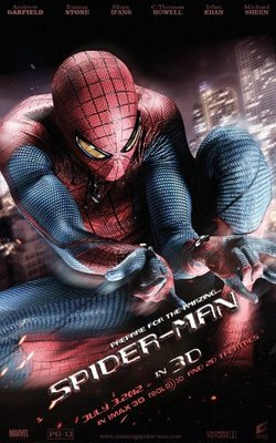 Spider-Man movie poster (2012) poster MOV_d39dadb3