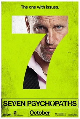 Seven Psychopaths movie poster (2012) poster MOV_d3bdec8f