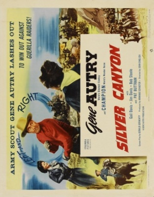 Silver Canyon movie poster (1951) poster MOV_d3c05a03